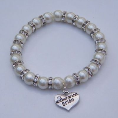Mother Of The Bride Bracelet - Full Sparkle Style